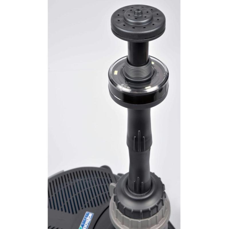 hozelock pompe pour fontaine avec lampe led cascade 1500 3354b8240 quincaillerie creavea. Black Bedroom Furniture Sets. Home Design Ideas