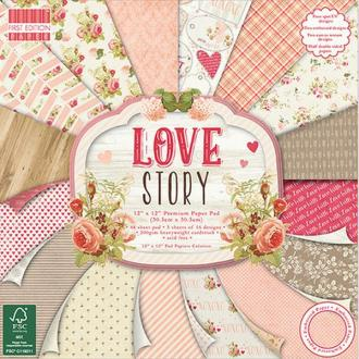 48 Papiers Fantaisis First Edition 30.5 cm LOVE STORY