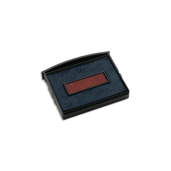 COLOP Recharge préencrée E2100 bleu/rouge pour 2100.., lot de 5 - Photo n°1