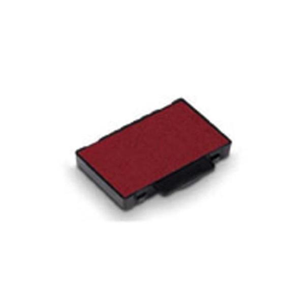 TRODAT Blister de 3 recharges d'encre rouge 6/53 - Photo n°1