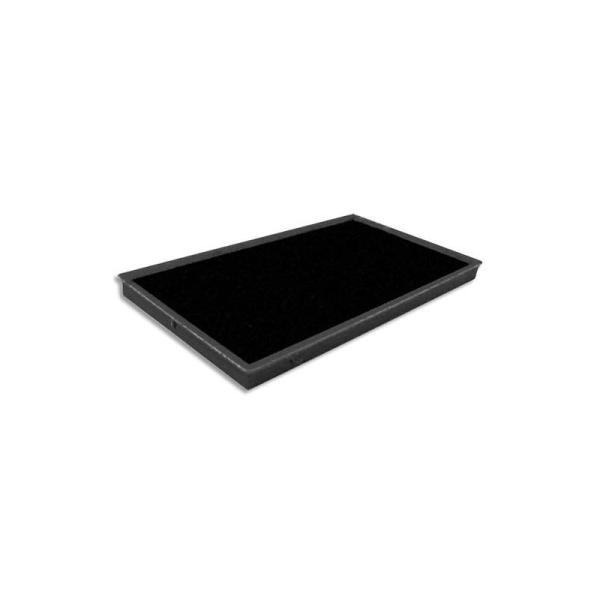 TIFLEX Recharge pour tampon encreur, feutre de 10x5,5cm noir - Photo n°1