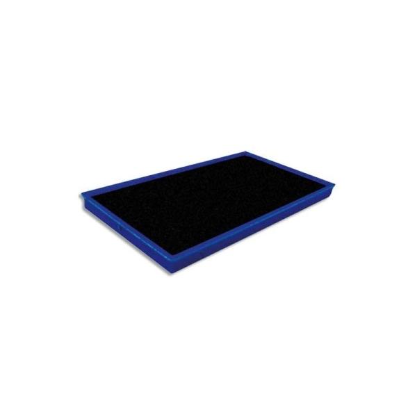 TIFLEX Recharge pour tampon encreur, feutre de 10x5,5cm bleu - Photo n°1