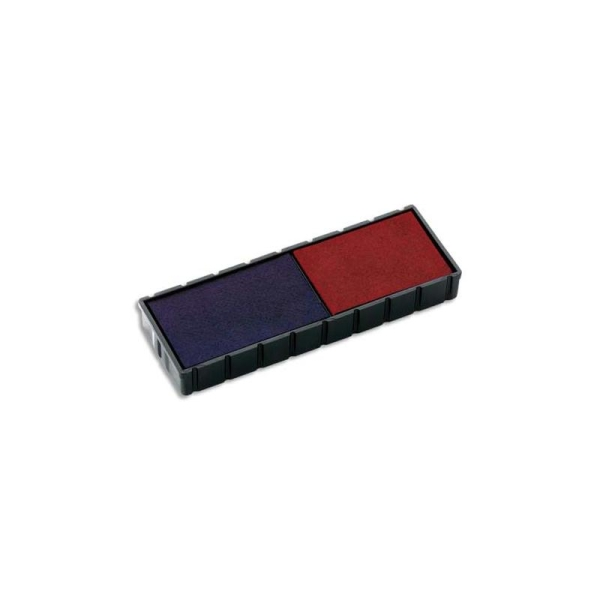COLOP Boite de 5 recharges E12 pour S120WD Bicolore bleu/rouge - Photo n°1