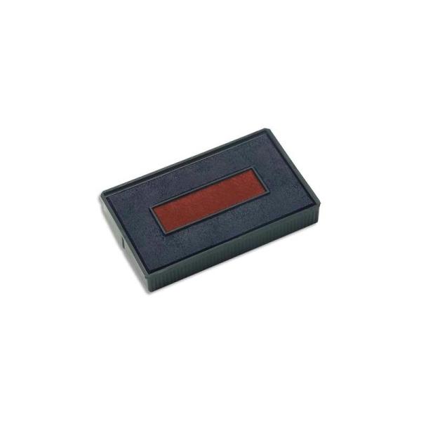 COLOP Recharge préencrée E200/2 bleu/rouge pour S200.., lot de 5 - Photo n°1