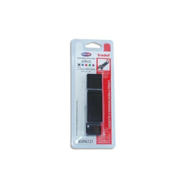 TRODAT Printy 9412 - Blister de 3 recharges d'encre noire 6/9412 pour Mobile Printy 9412 - Photo n°1