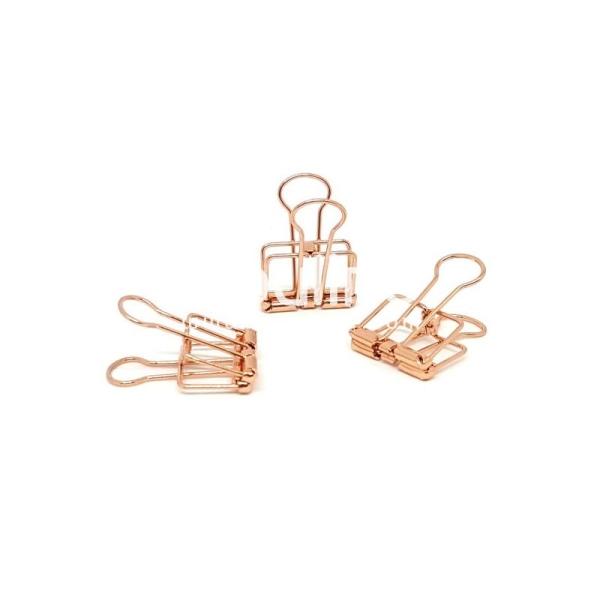 Clip métal - Corail - Photo n°1