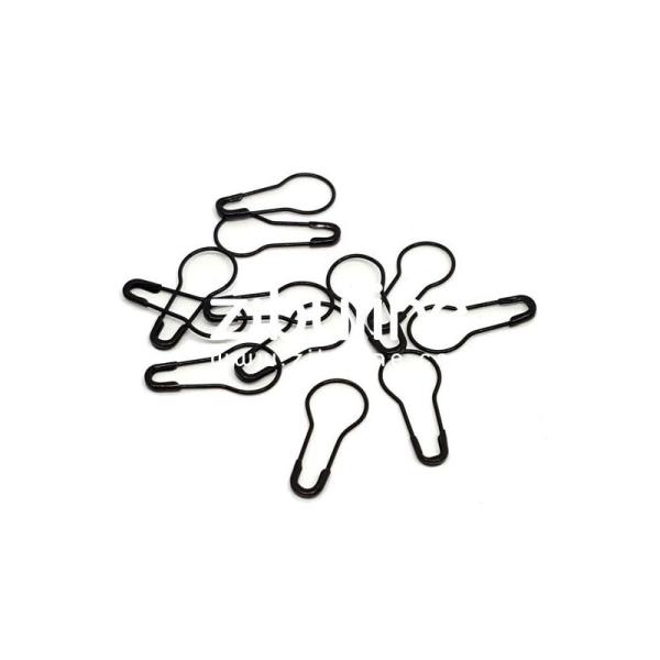 Epingles à nourrice - Noir - Photo n°1