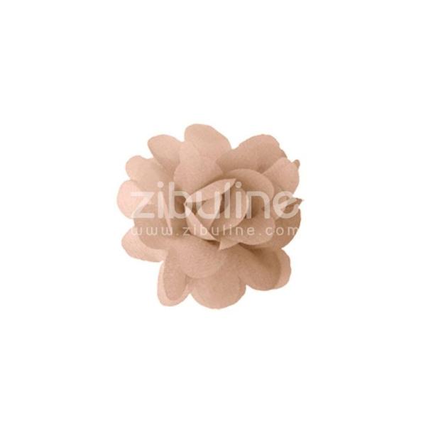 Fleur chiffon - Beige - Photo n°1