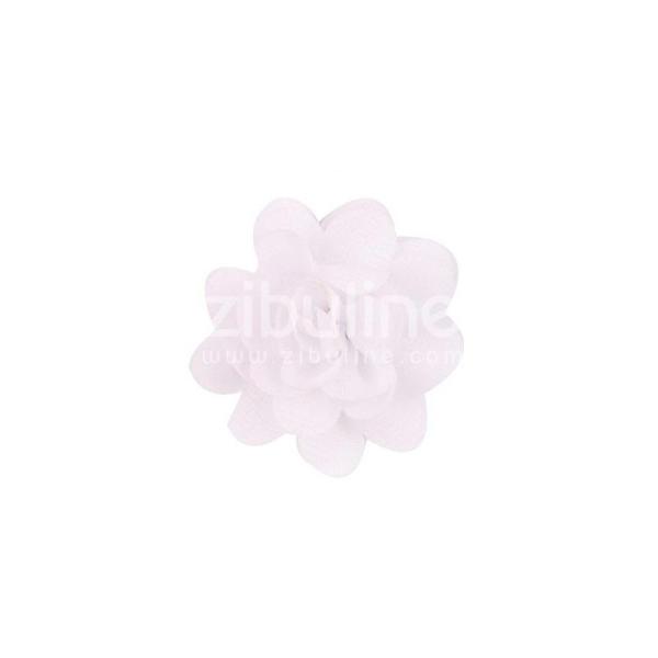 Fleur chiffon - Blanc - Photo n°1