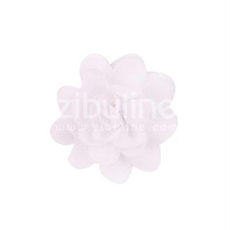 Fleur chiffon - Blanc