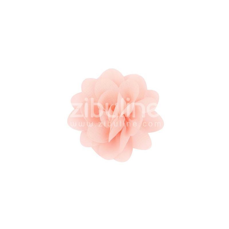 Fleur chiffon - Corail - Photo n°1
