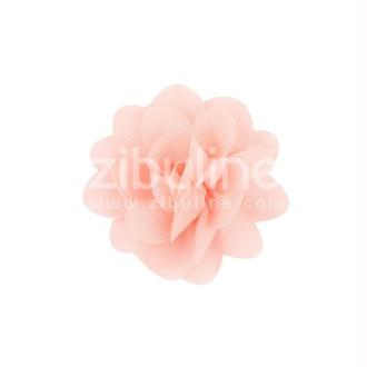 Fleur chiffon - Corail