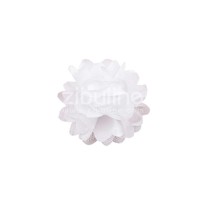 Fleur dentelle - Blanc - Photo n°1