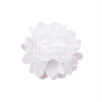 Fleur dentelle - Blanc