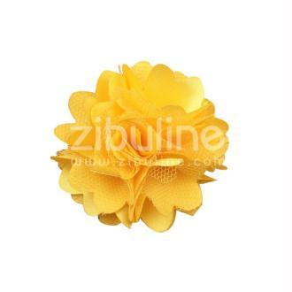 Fleur dentelle - Jaune vif