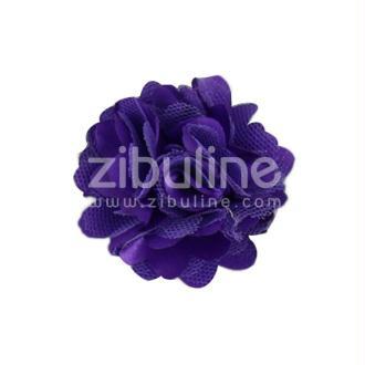 Fleur dentelle - Violet foncé