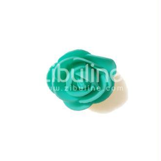 Fleur en mousse - Turquoise