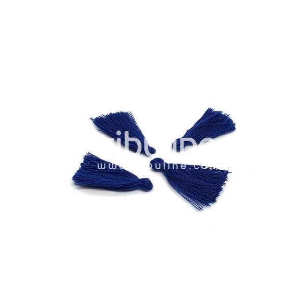 Pompon fils - Bleu marine - Photo n°1