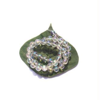 Cristal Aura : 10 Perles 8 MM de diamètre
