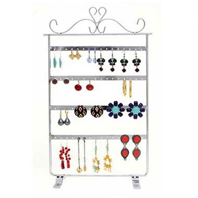 porte bijoux porte boucle d 39 oreille cadre baroque 32 paires cuivre patin pr sentoir boucles. Black Bedroom Furniture Sets. Home Design Ideas