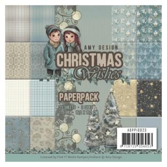 Bloc de papier - Amy Design - Christmas Wishes 15.2 x 15.2