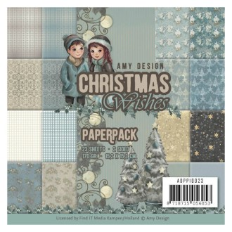 Paperpack - Amy Design - Christmas Wishes 15.2 x 15.2