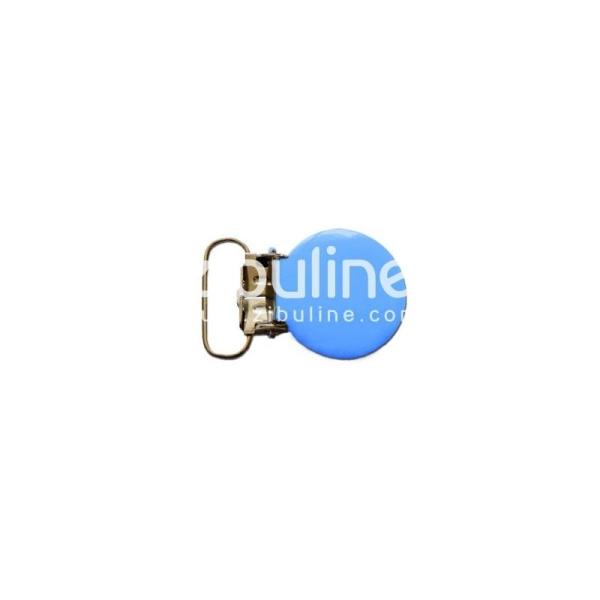 Pince métal ronde - Bleu clair - Photo n°1