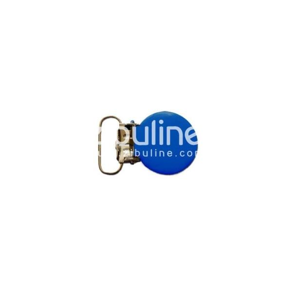 Pince métal ronde - Bleu foncé - Photo n°1