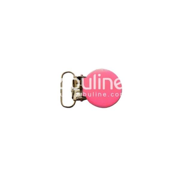 Pince métal ronde - Fuchsia - Photo n°1