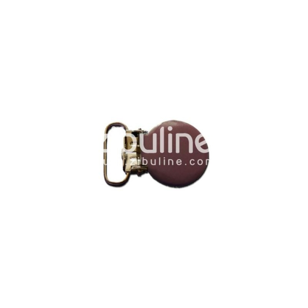Pince métal ronde - Marron foncé - Photo n°1