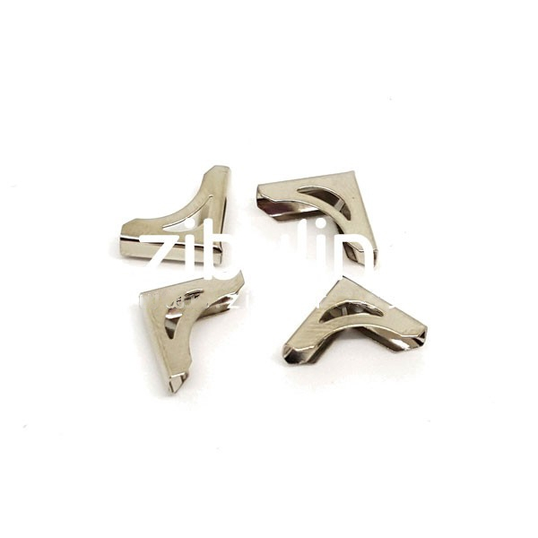 Coins métal - Mini ajourés argentés - Photo n°1