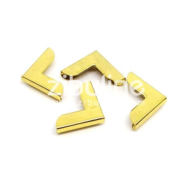 Coins métal - Simples dorés - Photo n°1
