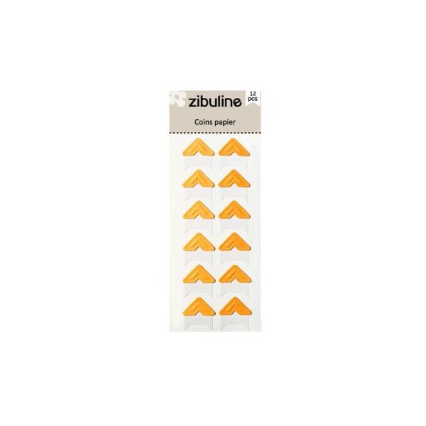 Coins papier - Orange - Photo n°1
