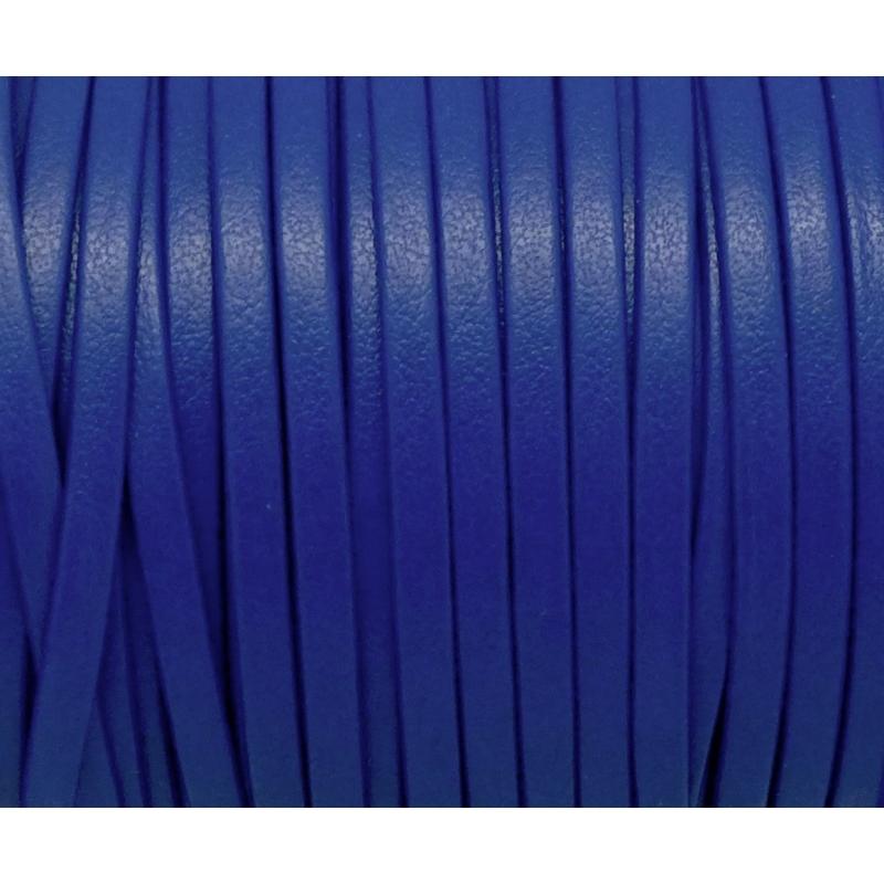1m lani re simili cuir 3mm de couleur bleu saphir tr s belle qualit cordon simili cuir creavea. Black Bedroom Furniture Sets. Home Design Ideas