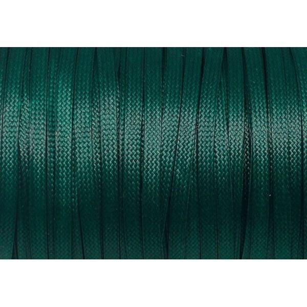 suédine 5m lacet façon cuir daim vert turquoise //16