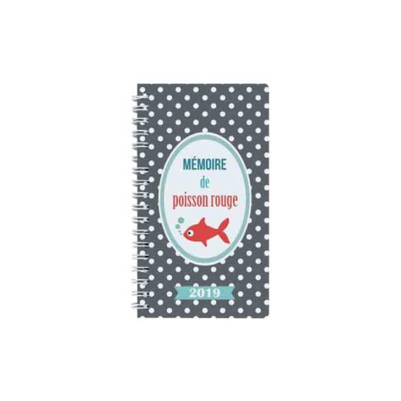 agenda dodo cath poisson rouge semainier lady 16w 2019 agenda ann e civile creavea. Black Bedroom Furniture Sets. Home Design Ideas
