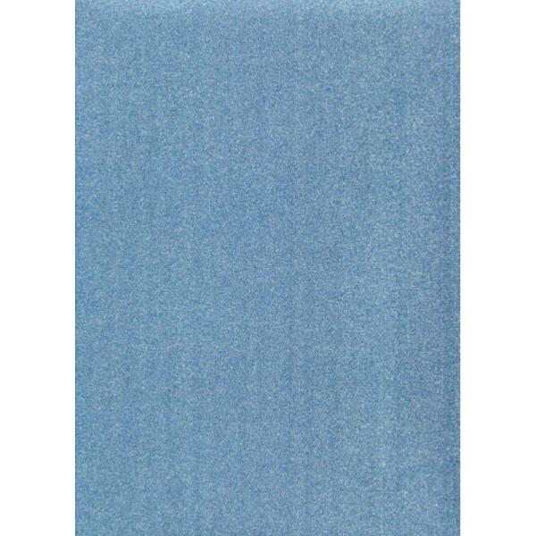 Papier glitter bleu - Photo n°1