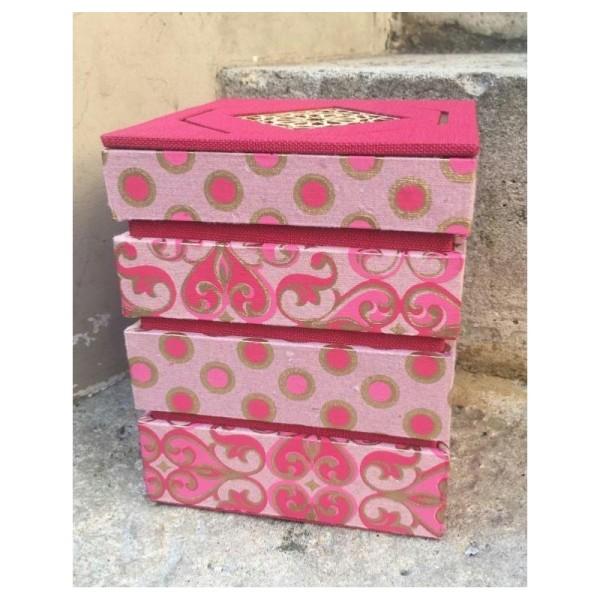 La boîte mirage, fiche technique de cartonnage - Photo n°1