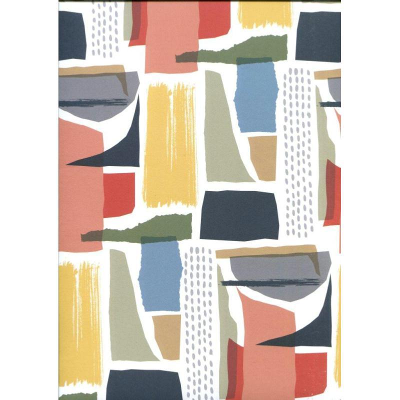 art moderne papier fantaisie anglais papiers cartonnage creavea. Black Bedroom Furniture Sets. Home Design Ideas