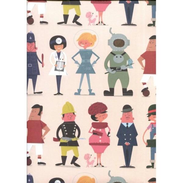 Who's who, papier fantaisie anglais - Photo n°1