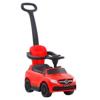 Vidaxl Voiture à Roulettes Avec Poussoir Mercedes Benz Gle63 Rouge