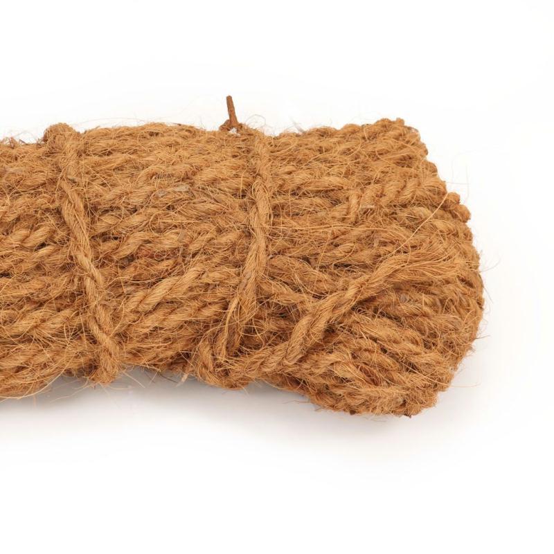 vidaxl corde en fibre de coco 10 mm 200 m quincaillerie creavea. Black Bedroom Furniture Sets. Home Design Ideas