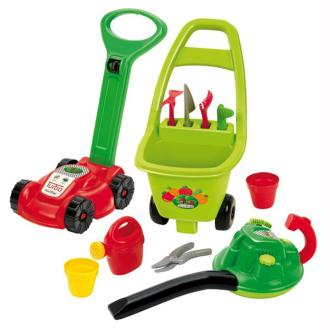 Ecoiffier Jeu D'outils De Jardinage 3-en-1 Rouge 1430301