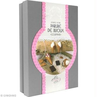 Kit créatif modelage pâte Fimo - Parure de bijoux - Gourmand