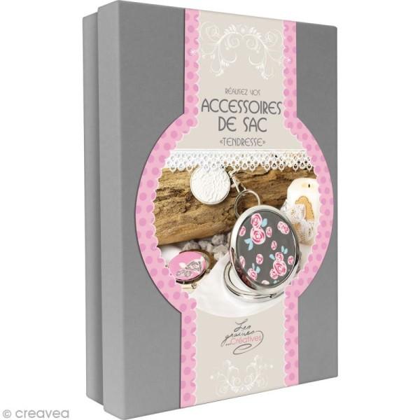 Kit créatif modelage pâte Fimo - Accessoires de sac - Tendresse - Photo n°1