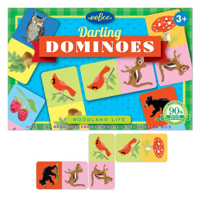 Petit domino- la vie des bois - Photo n°1