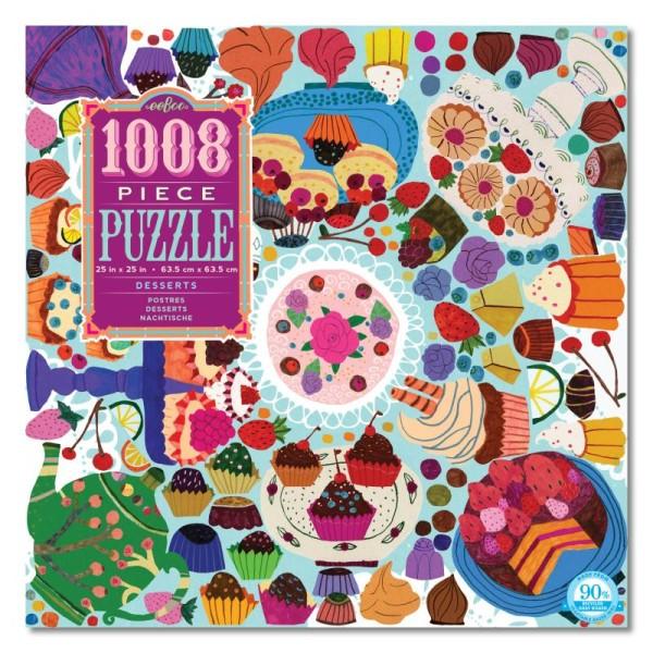 Puzzle 1008- desserts - Photo n°1