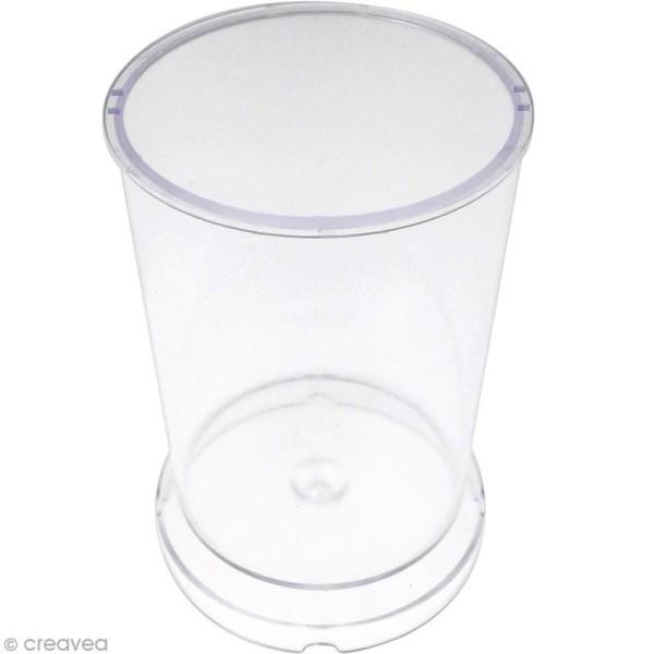 Moule à bougie - Cylindre - 7,5 cm - Photo n°1