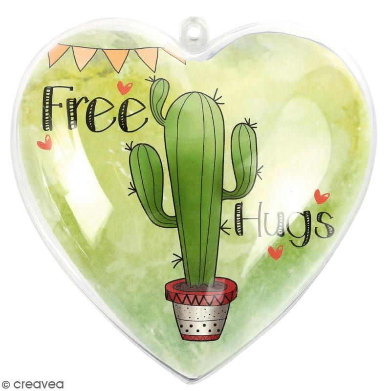 Coeur cadeau créatif - Free hugs - 5 pcs - Photo n°1