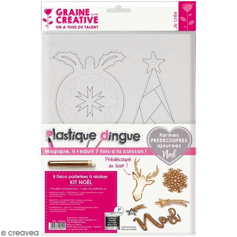 Kit plastique dingue - Décorations de Noël - Photo n°1